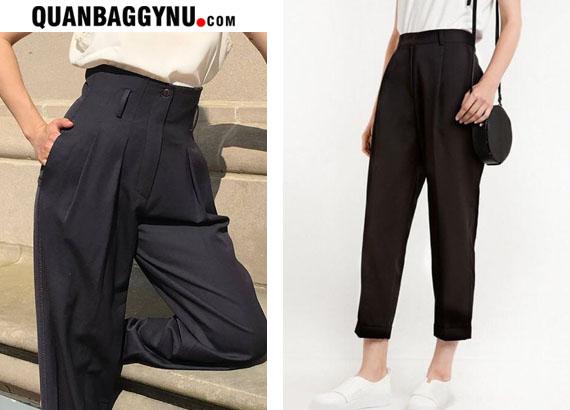 Tại sao các bạn nữ nên mặc quần vải, quần tây lưng cao?